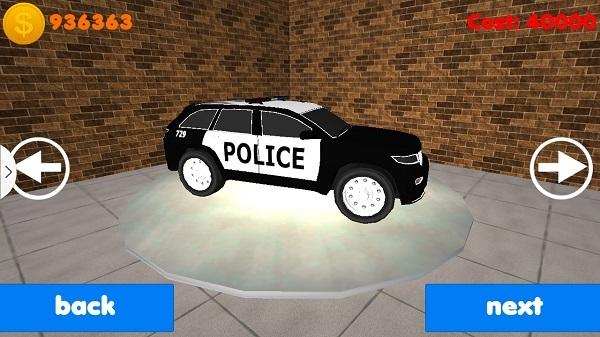 警车追击3d无限金币版 V20151012 安卓版截图5