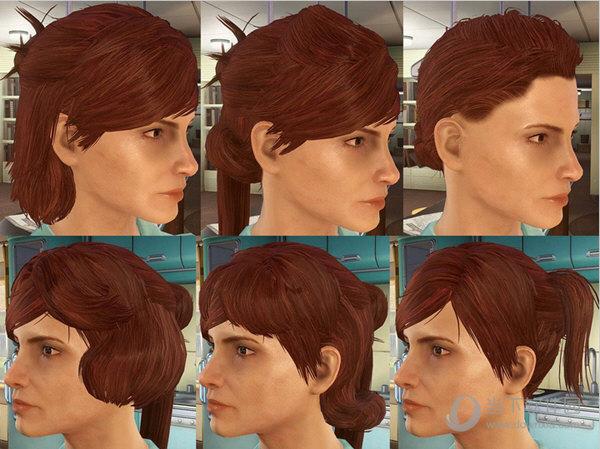 辐射4更多发型mod