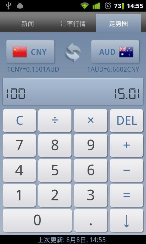 货币汇率app V3.0.3 安卓版截图3