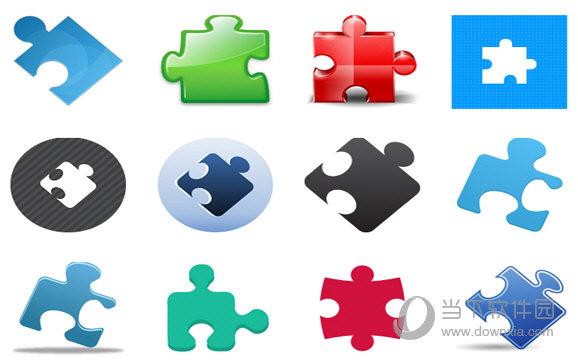 拼图创意电脑图标|拼图创意电脑图标