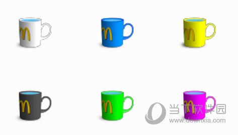 麦当劳马克杯电脑图标