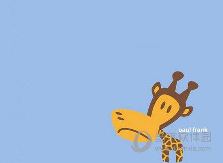 卡通动物主题PPT模板