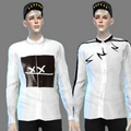 模拟人生4男性帅气衬衫MOD V1.0 绿色免费版
