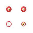 红色圆形鼠标指针 免费版