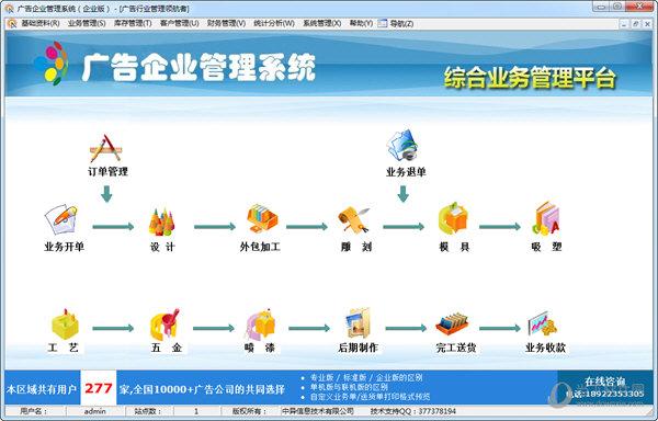 广告企业管理系统
