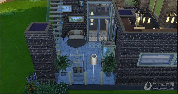 模拟人生4单身豪华公寓mod