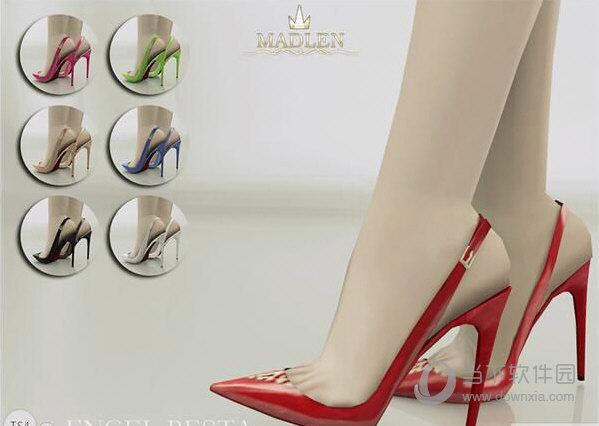 模拟人生4红色高跟鞋mod