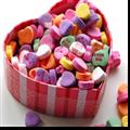 糖果爱心情人节PPT模板 免费版