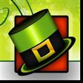 绿色帽子背景的卡通PPT模板 免费版