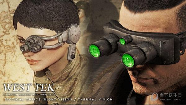 辐射4西部科技战术眼镜mod