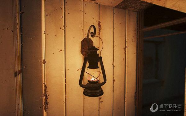 辐射4壁挂式油灯mod