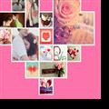 唯美浪漫照片墙婚礼主题PPT模板 V1.0 绿色免费版
