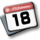 飞雪桌面日历绿色版