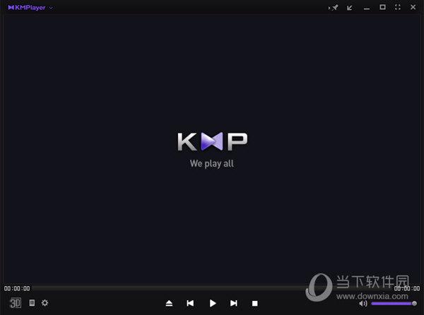 打开KMPlayer播放器