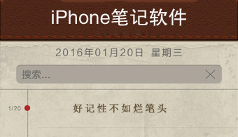 iPhone笔记软件