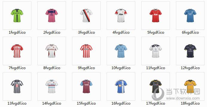 足球队服桌面图标