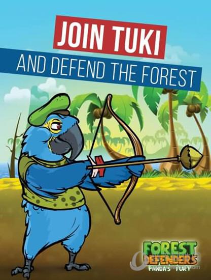 森林防御:熊猫的愤怒破解版