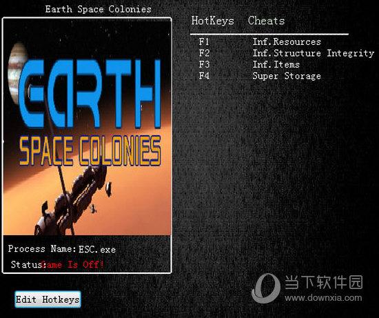 地球太空殖民地四项修改器