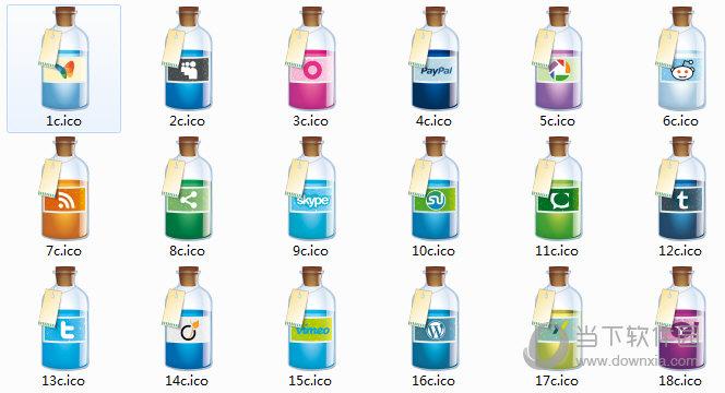酒瓶创意桌面图标