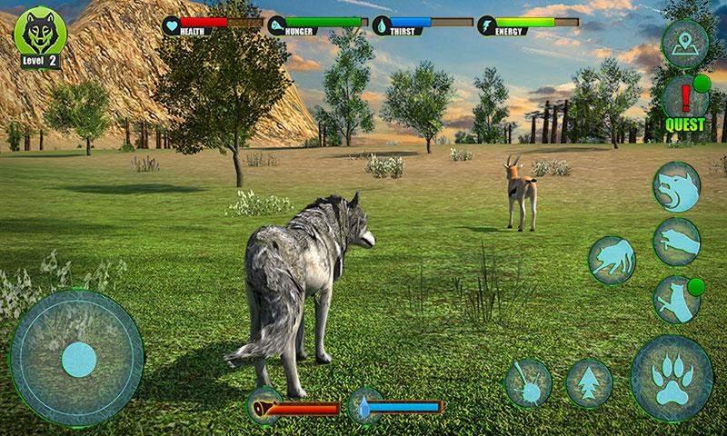 终极狼冒险3D修改版 V1.1 安卓版截图5