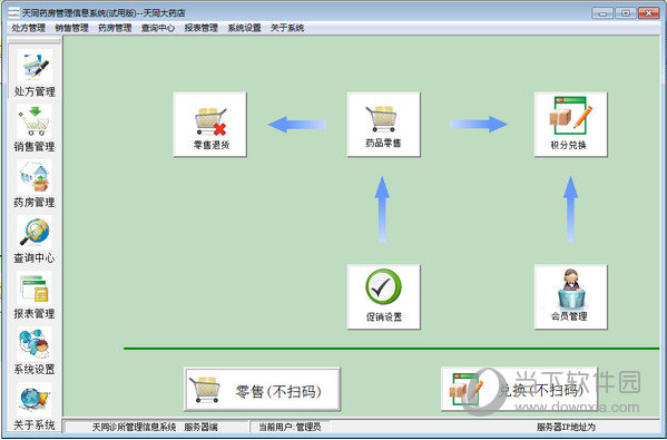 天同药房管理信息系统