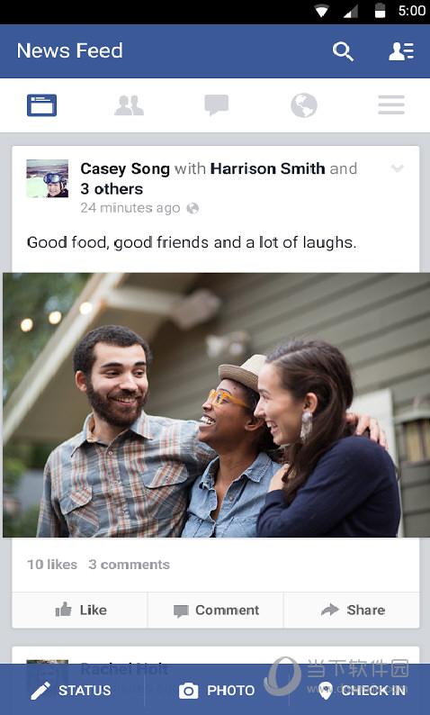 facebook手机客户端