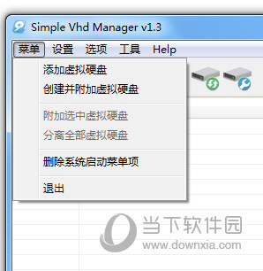 Simple VHD Manager