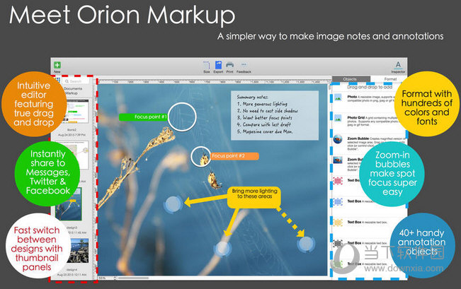 Orion Markup MAC版