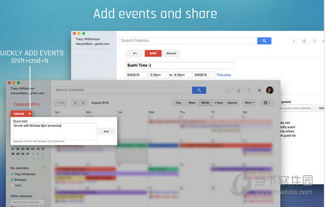 CalendarPro for Google MAC版