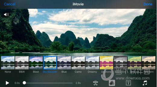 iMovie iPhone版