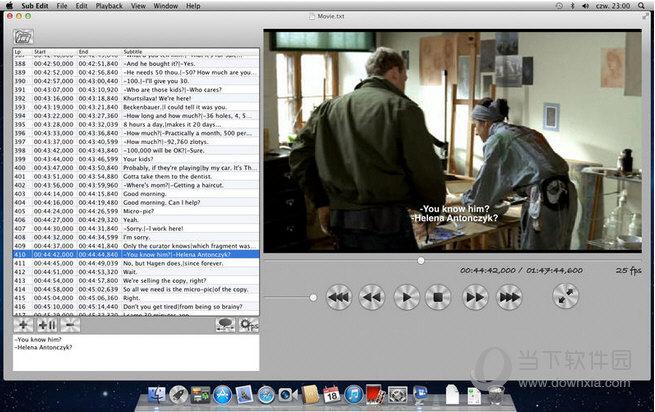 Sub Edit MAC版