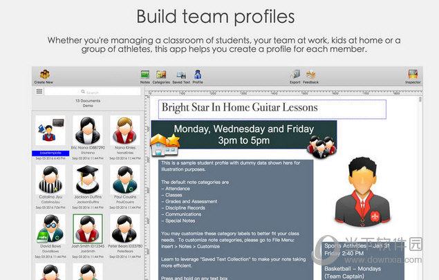 Student Profiles 2 MAC版