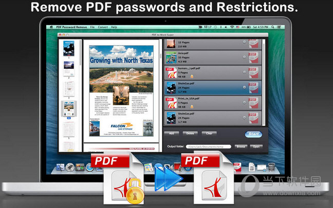 PDF Password Remove MAC版