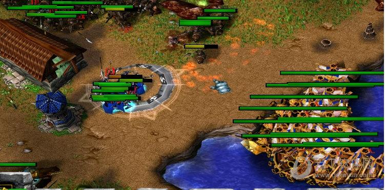 汉朝之战魔兽地图