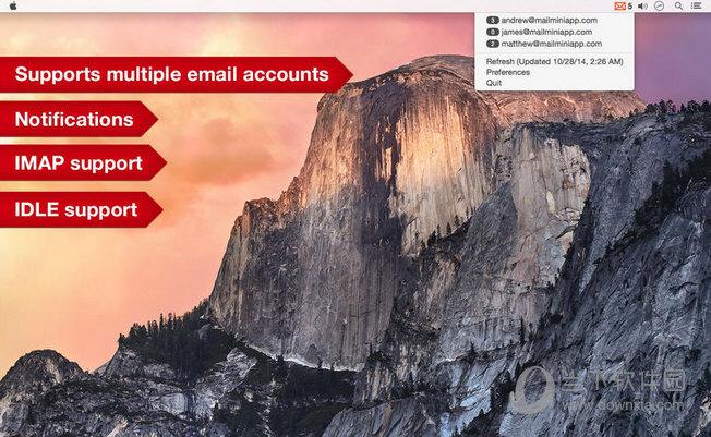 Mail Mini MAC版