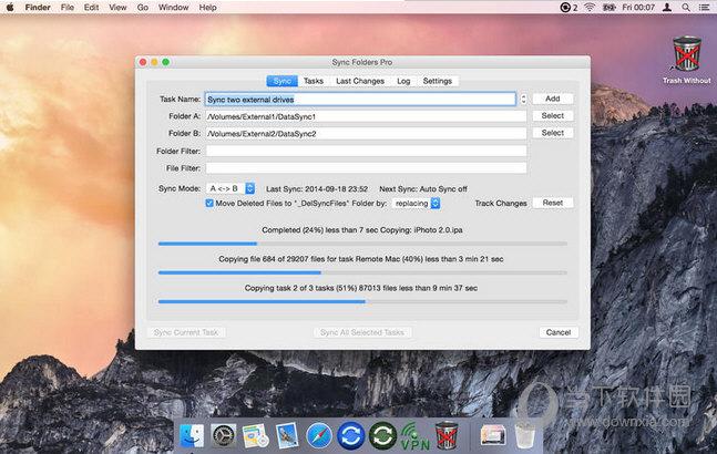 Sync Folders Pro MAC版