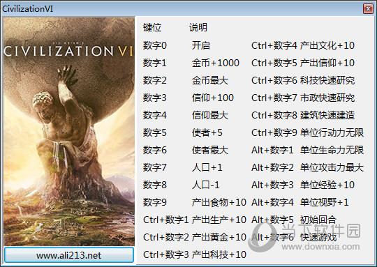 文明6全版本修改器