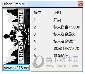 城市帝国五项修改器