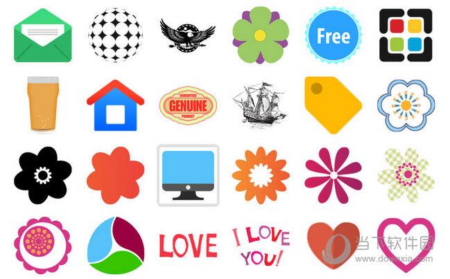 svg gallery mac版剪贴画与ms office,iwork,idraw,illustrator和