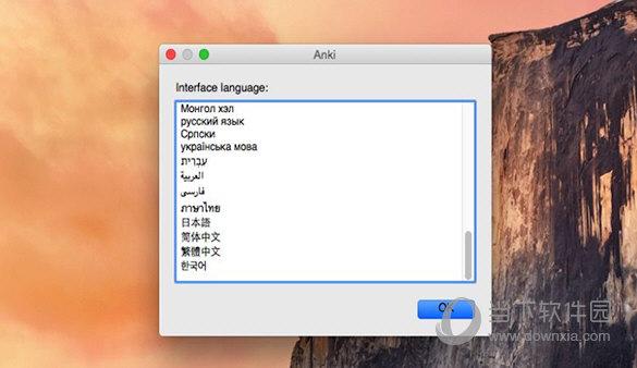 Anki MAC版