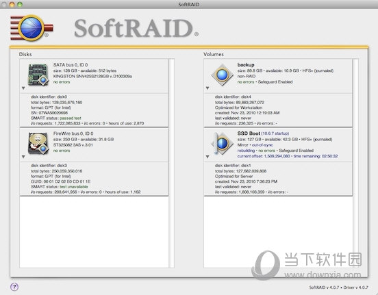 SoftRAID MAC版