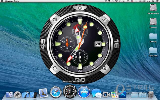 桌面时钟for MAC版