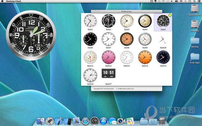 桌面时钟MAC版下载
