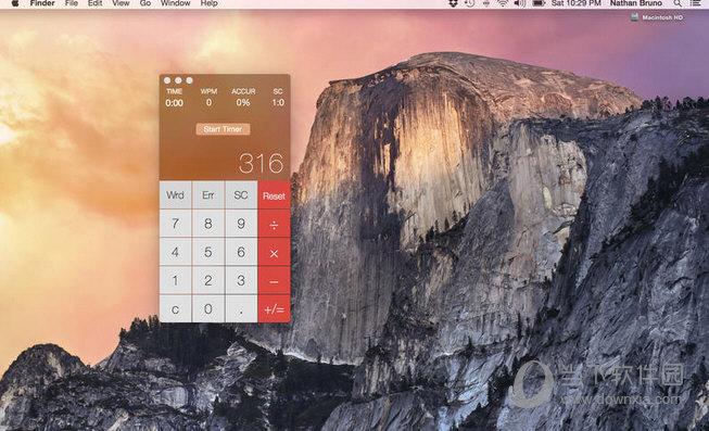 Running Record Calculator MAC版