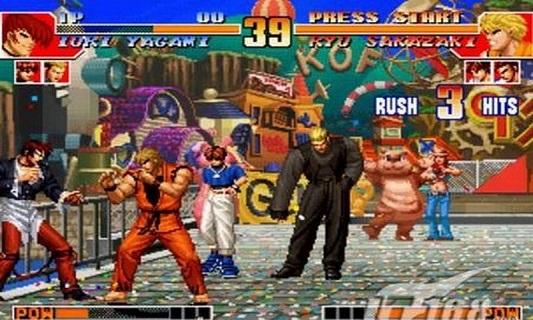 拳皇97之风云再起 V1.33 安卓版截图1