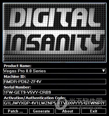 Sony Vegas Pro 8.0注册机