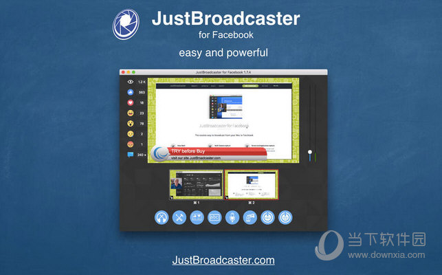 JustBroadcaster for Facebook MAC版下载