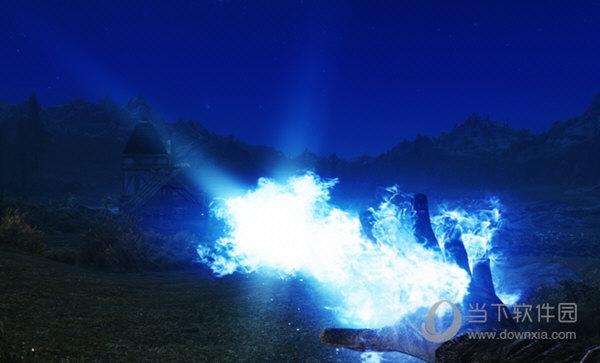 上古卷轴5蓝色火焰魔法MOD