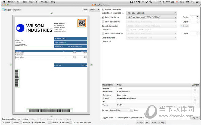 EasyTag CloudPrinter MAC版