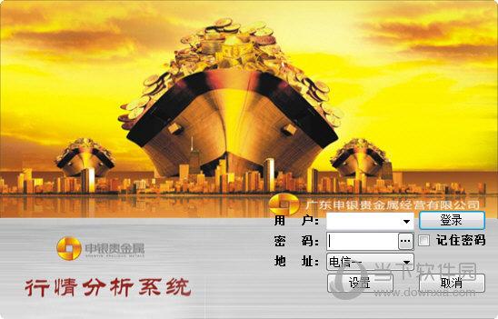 广东申银贵金属行情分析系统